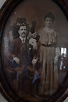 Greek immigrant couple in the late 1800's, early 1900's