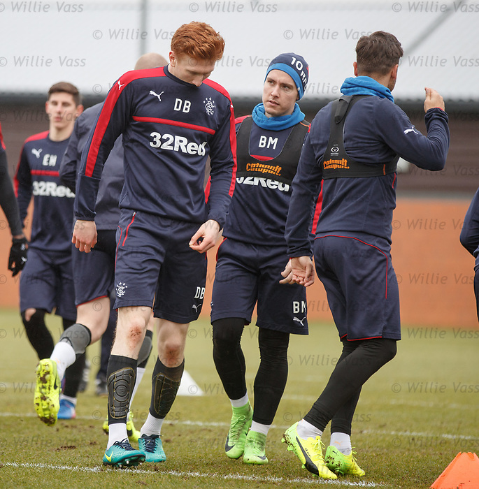 David Bates and Barrie McKay
