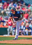4 March 2016: Houston Astros pitcher Will Harris on the mound during a Spring Training pre-season game against the St. Louis Cardinals at Osceola County Stadium in Kissimmee, Florida. The Astros defeated the Cardinals 6-3 in Grapefruit League play. Mandatory Credit: Ed Wolfstein Photo *** RAW (NEF) Image File Available ***