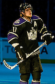 Anze Kopitar (Los Angeles Kings, #11, second star, during ice-hockey match between Los Angeles Kings and Colorado Avalanche in NHL league, February 26, 2011 at Staples Center, Los Angeles, USA. (Photo By Matic Klansek Velej / Sportida.com)