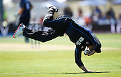 17.02.2015. Dunedin, New Zealand.  Brendon McCullum fielding during the ICC Cricket World Cup match between New Zealand and Scotland at University Oval in Dunedin, New Zealand. Tuesday 17 February 2015.