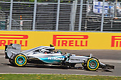 Nico Rosberg (Germany) F1 Mercedes AMG Petronas F1 W06 Hybrid Formula 1 practice during the Grand Prix of Canada on June 6th 2015 at circuit Gilles-Villeneuve
