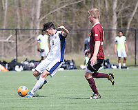 The Winthrop University Eagles played the UNC Wilmington Seahawks in The Manchester Cup on April 5, 2014.  The Seahawks won 1-0.  Magnus Thorsson (8), Jack Ward (9)
