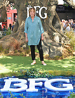 Penelope Wilton at the &quot;The BFG&quot; UK film premiere, Odeon Leicester Square cinema, Leicester Square, London, England, UK, on Sunday 17 July 2016.<br /> CAP/CAN<br /> &copy;CAN/Capital Pictures /MediaPunch ***NORTH AND SOUTH AMERICAS ONLY***