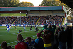 Rochdale 2 Bury 0, 15/10/2016. Spotland Stadium, League One. Rochdale make it six successive League One wins with a derby triumph against neighbours Bury.<br />