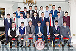 The Beaufort GAA minor team that won the Mid Kerry Championship at their social in the Killarney Avenue Hotel on Friday night
