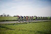 peloton on the move<br /> <br /> Kuurne-Brussel-Kuurne 2016