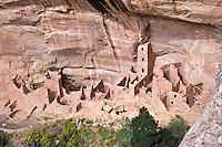 Mesa Verde, Square Tower House ruins, Anasazi 13thC, CO