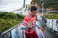 BELLS BEACH, Victoria/AUS (Tuesday, April 2, 2013)  Adriano de Souza (BRA), 25, has claimed the 2013 Rip Curl Pro Bells Beach presented by Ford over ASP Dream Tour rookie .Nat Young (USA), 21, in clean three-to-five foot (1 - 1.5 metre) waves at Bells Beach today..Event No. 2 of 10 on the 2013 ASP World Championship Tour (WCT), the Rip Curl Pro Bells Beach culminated in dramatic fashion today with the young Brazilian claiming the first South American men's title in the event's storied 52-year history..De Souza's win today vaults the young South American ASP WCT No. 4 heading into the third event on tour in Brazil...Young, the rookie goofy-footer from California's Santa Cruz, posted a career-best result today, wowing spectators and competitors alike with his run to the Finals..Young's Runner-Up finish today pushes him to No. 5, tied with reigning ASP World Champion Joel Parkinson (AUS), 31, on the ASP WCT rankings..Taj Burrow (AUS), 34, perennial ASP World Title threat, continued his blistering Bells Beach run this morning against compatriot Kai Otton (AUS), 33, in the Quarterfinals before coming up short to Young in their Semifinal bout..Jordy Smith (ZAF), 25, was one of the form surfers at Bells Beach throughout the event window, consistently notching up high-scoring rides. The powerful South African's run was ended, however, in the Semifinals at the hands of De Souza. - Photo: joliphotos.com