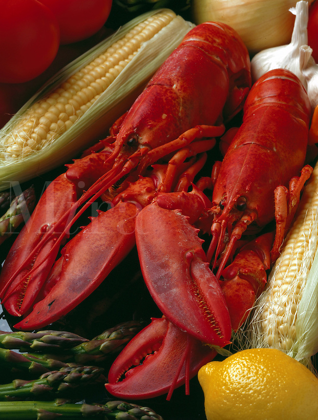 Corn and Lobster.