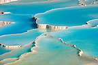 Photo &amp; pictures  of Pamukkale Travetine Terrace, Turkey. Photography of the white Calcium carbonate rock formations. Buy as stock photos or as photo art prints. 4