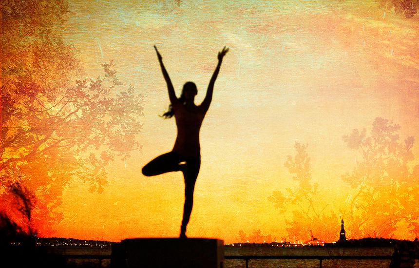 Yoga Poto-illustration | Wari Om Yoga Photography