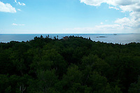 Jewell Island, Casco Bay off the Coast of Portland Maine. WWII installations.