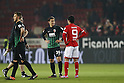 "(L-R) Takashi Usami (Augsburg), Yoshinori Muto (Mainz), FEBRUARY 11, 2017 - Football / Soccer : German ""Bundesliga"" match between 1 FSV Mainz 05 2-0 FC Augsburg at the Opel Arena in Mainz, Germany. (Photo by Mutsu Kawamori/AFLO) [3604]"