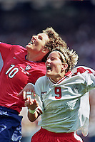 USA vs Denmark, June 19, 1999