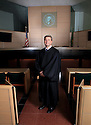 PE00021-00....WASHINGTON - Chief Justice Steve Dryer of Washington State Court Of Apeals in Seattle.