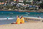 Manly Beach, New South Wales, Australia; Lifeguards patrolling the beach © Matthew Meier, matthewmeierphoto.com All Rights Reserved