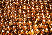 Prayer Candles at Swayambhunath, Nepal