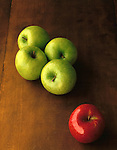 apples green and red