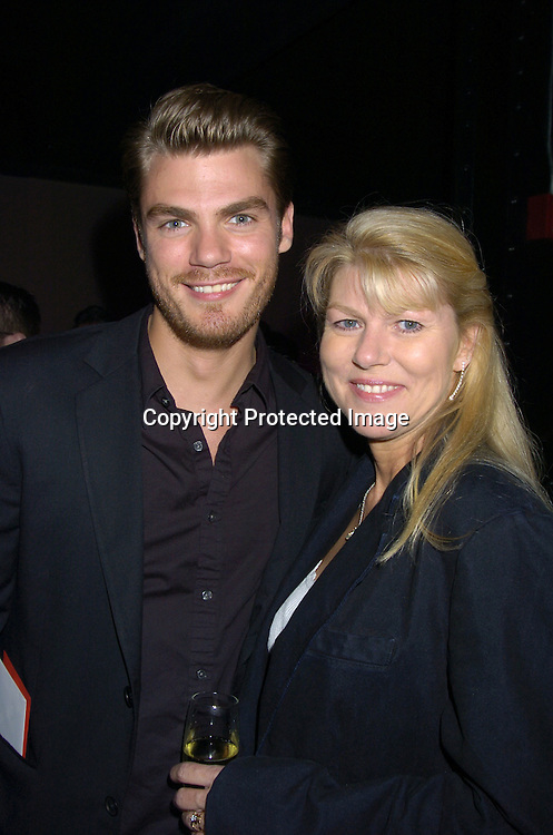 Jeff Branson and mom Leslie ..at Marcia Tovsky's Pre Emmy Party on May 18, 2005 at ..Neogaea. ..Photo by Robin Platzer, Twin Images