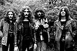 Black Sabbath 1970 Bill Ward Geezer Butler Tony Iommi and Ozzy Osbourne<br /> &copy; Chris Walter