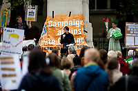 Lorraine Inglis (Member of Frack Off London).<br />