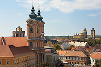 Minorette church from Eger Castle - Hungary