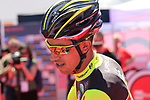 Daniel Martinez Poveda (COL) Wilier Triestina-Selle Italia at sign on in Arbatax before the start of Stage 3 of the 100th edition of the Giro d'Italia 2017, running 148km from Tortoli to Cagliari, Sardinia, Italy. 7th May 2017.<br /> Picture: Eoin Clarke | Cyclefile<br /> <br /> <br /> All photos usage must carry mandatory copyright credit (&copy; Cyclefile | Eoin Clarke)