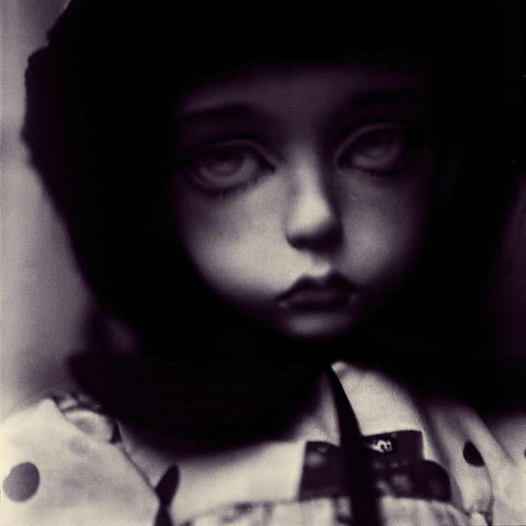 ludvine the doll looking sad