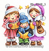 Christmas - children paintings