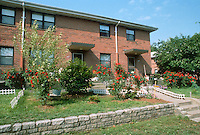1992 May ..Assisted Housing..Tidewater Gardens (6-2 & 6-9)..YARD BEAUTIFICATION...NEG#.NRHA#..