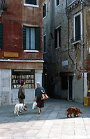 Venice:   A three minute walk--5.  Photo '83.