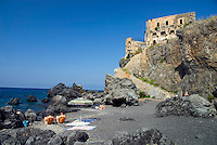 Scalea, Calabria, Italy, May 2007. Once tranquil, ancient scalea has become a major beach resort. Many picturesque towns line the mountainous coastline of Calabria. Photo by Frits Meyst/Adventure4ever.com