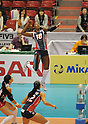 De La Cruz de Pena Bethania (DOM), November 17 2011 - Volleyball : .FIVB Women's World Cup 2011, 4th Round .match between Dominican Republic 3-2 Korea .at Tokyo Metropolitan Gymnasium, Tokyo, Japan. .(Photo by Atsushi Tomura/AFLO SPORT) [1035]