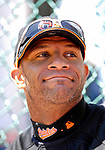 21 May 2007:  Baltimore Orioles outfielder Jay Payton watches his teammates at Doubleday Field prior to Baseball's Annual Hall of Fame Game in Cooperstown, NY. The Orioles defeated the visiting Toronto Blue Jays 13-7...Mandatory Credit: Ed Wolfstein Photo