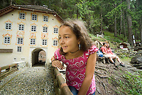 Pfunds, Tiroler Oberland, Austria, August 2009. Mini Fundus, a collection of minitiature houses in the forest. Photo by Frits Meyst/Adventure4ever.com