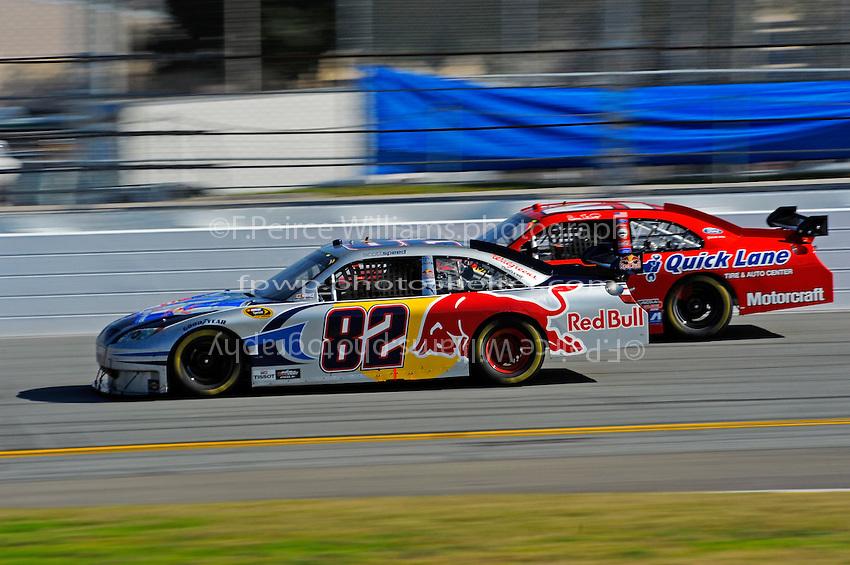 14 February, 2010, Daytona Beach, Florida USA USA.Scott Speed's Toyota Camry.©F. Peirce Williams 2010 USA.