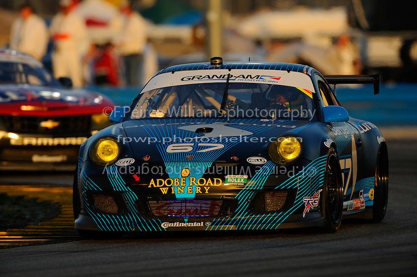 #67 TRG Porsche GT3 Cup of Steven Bertheau, Marc Goossens, Wolf Henzler, Spencer Pumpelly