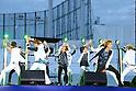 K-Pop Stars attend Jingu Gaien Fireworks Festival