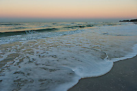 Low tide during early morning hours at Anna Maria Island in Southern Florida.
