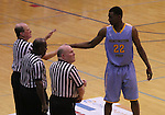 Andrew Wiggins greets the referees at Scott County High School in Lexington, Ky., on Sunday, November 18, 2012. Photo by Tessa Lighty | Staff