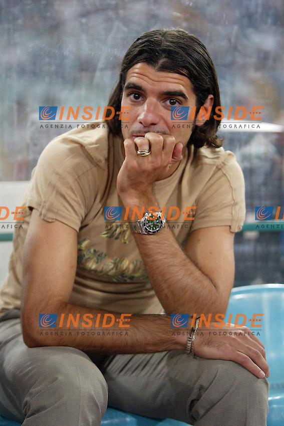 Roma 29/8/2004 Amichevole di presentazione AS Roma. Friendly match Roma - Iran 5-3. Simone Perrotta Roma<br /> <br /> Foto Andrea Staccioli Insidefoto