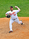 6 March 2009: Baltimore Orioles' pitcher George Sherrill on the mound during a Spring Training game against the Washington Nationals at Fort Lauderdale Stadium in Fort Lauderdale, Florida. The Orioles defeated the Nationals 6-2 in the Grapefruit League matchup. Mandatory Photo Credit: Ed Wolfstein Photo