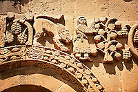 Bas Releif sculptures with scenes from the Bible on the outside of the 10th century Armenian Orthodox Cathedral of the Holy Cross on Akdamar Island, Lake Van Turkey 37