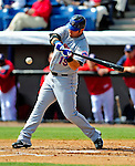 4 March 2009: New York Mets' outfielder Ryan Church in action during a Spring Training game against the Washington Nationals at Space Coast Stadium in Viera, Florida. The Nationals rallied to defeat the Mets 6-4 . Mandatory Photo Credit: Ed Wolfstein Photo