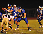 Oxford High's Luke Leary (51) vs. New Hope in high school football in Oxford, Miss. on Friday, September 28, 2012. Oxford won 29-17 to improve to 6-0.