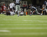 Ole Miss recovers a fumble vs. Texas A&M at Vaught-Hemingway Stadium in Oxford, Miss. on Saturday, October 6, 2012. Texas A&M rallied from a 27-17 4th quarter deficit to win 30-27.