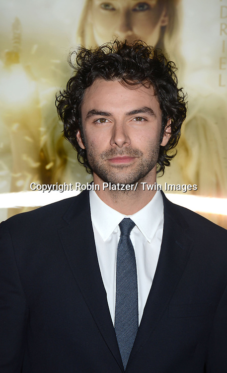"Aidan Turnerattend the US Premiere of ""The Hobbit"" on December 6, 2012 at the Ziegfeld Theatre in New York City."
