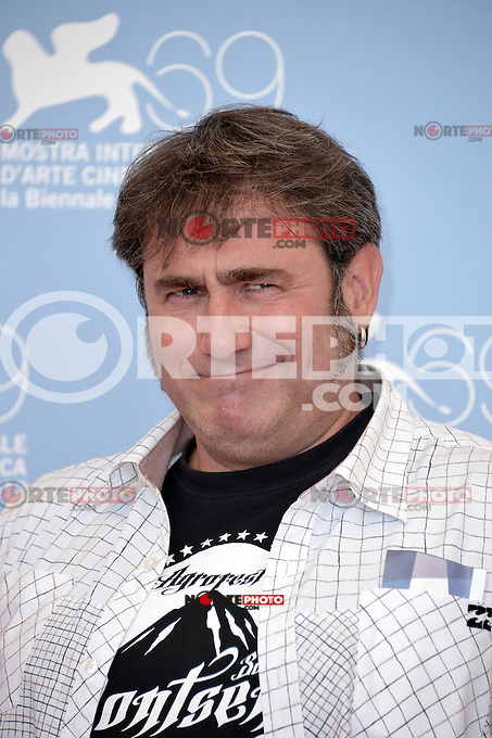 VENICE, ITALY - AUGUST 30: Actor Sergi Lopez attends the 'Tango Libre' photocall during the 69th Venice Film Festival at the Palazzo del Casino on August 30, 2012 in Venice, Italy AFG / Mediapunchinc /NortePhoto.com<br />