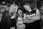 NEW YORK - MARCH 1997:  Mock rockers Spinal Tap (L-R:  Michael McKean, Harry Shearer and Christopher Guest) pose for a photo at CBGB's in March 1997 in New York City,  New York. (Photo by Catherine McGann).Copyright 2010 Catherine McGann